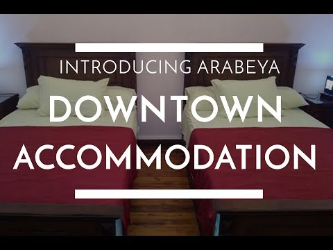 Arabeya Accommodation in Downtown - Introducing Arabeya