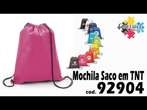 Mochila Saco em TNT 92904 Personalizada - Criative Brindes
