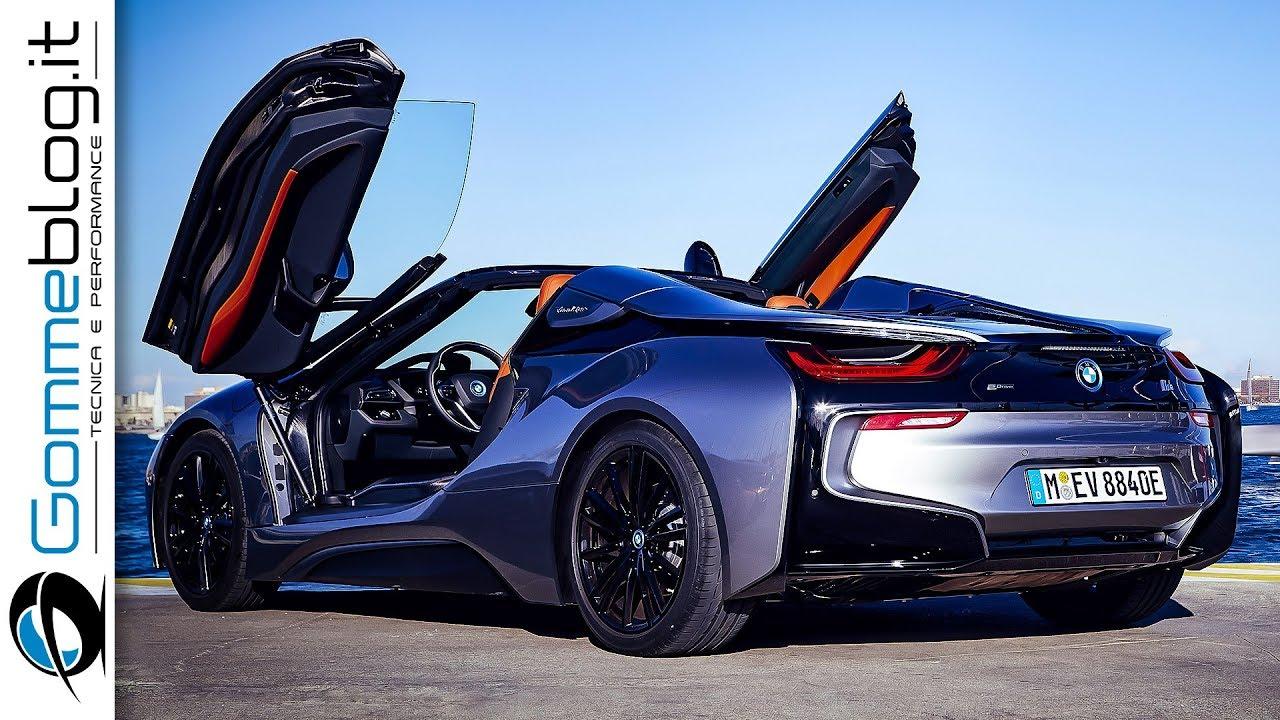 bmw i8 roadster interior exterior car design drive youtube. Black Bedroom Furniture Sets. Home Design Ideas