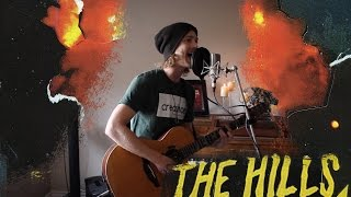 """The Hills"" - The Weeknd (Acoustic Loop Pedal Cover) Explicit*  with lyrics & Tabs!"