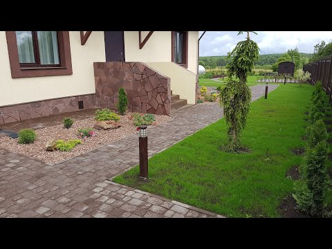 Ландшафтный дизайн на дачном участке