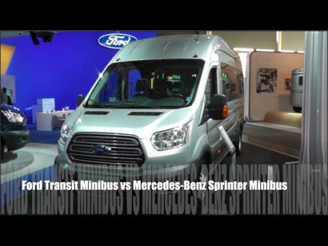 Ford Transit Minibus  Vs Mercedes Benz Sprinter Minibus