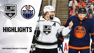 NHL Highlights | Kings @ Oilers 12/6/19