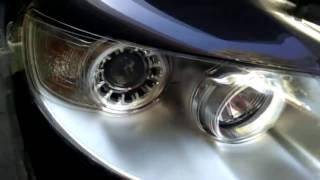 Как снять фары на VW Touareg