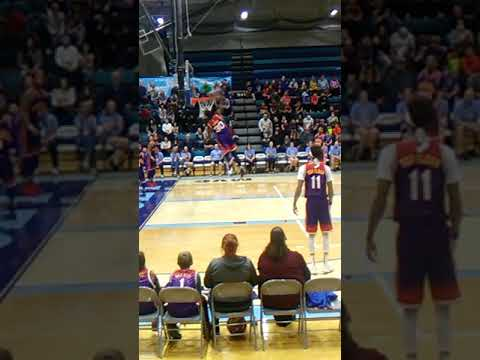 Harlem Wizards game at the Jersey Community High School what a great time it was see u in 2022 blue