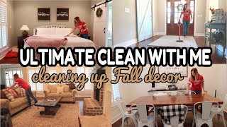 *NEW* ULTIMATE CLEAN WITH ME // FALL DECOR STORAGE // EXTREME CLEANING MOTIVATION
