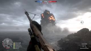 Battlefield 1 Ship Explosion