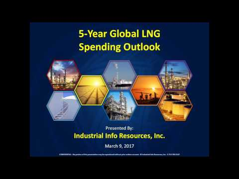 5 Year Global LNG Spending Outlook