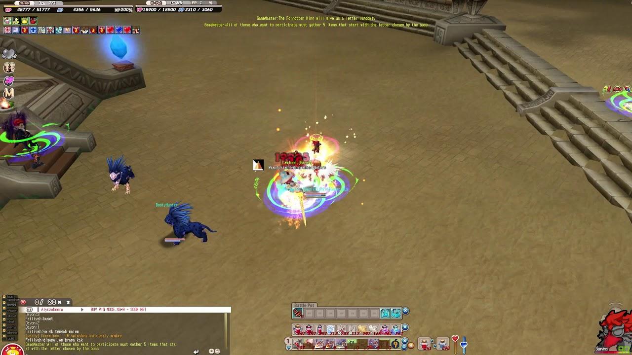 Seal Online - Demolitionist vs Swordmaster