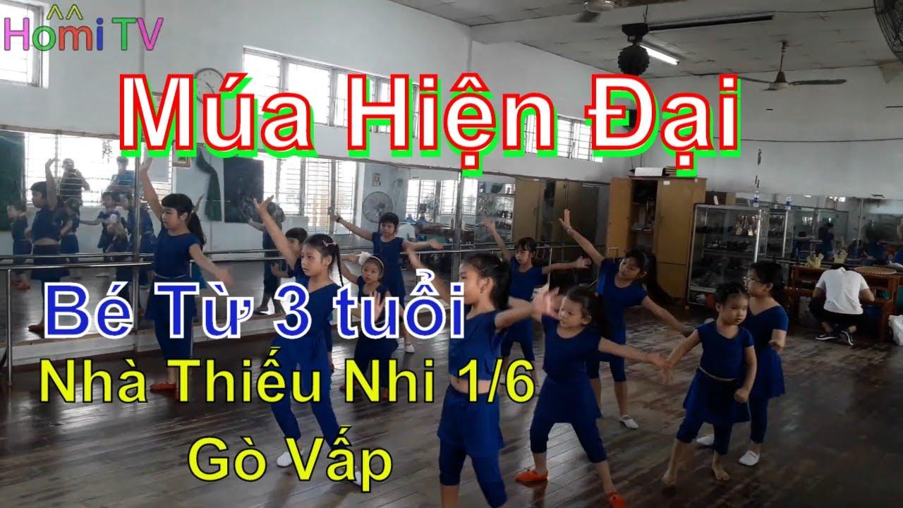 Bài Thi Nhảy Múa Hiện Đại Của Các Bé – Nhà Thiếu Nhi Quận Gò Vấp ❤ Homi ToysReview TV ❤