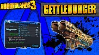 Borderlands 3 | Gettleburger Unique Weapon Guide (Burger Launcher!)