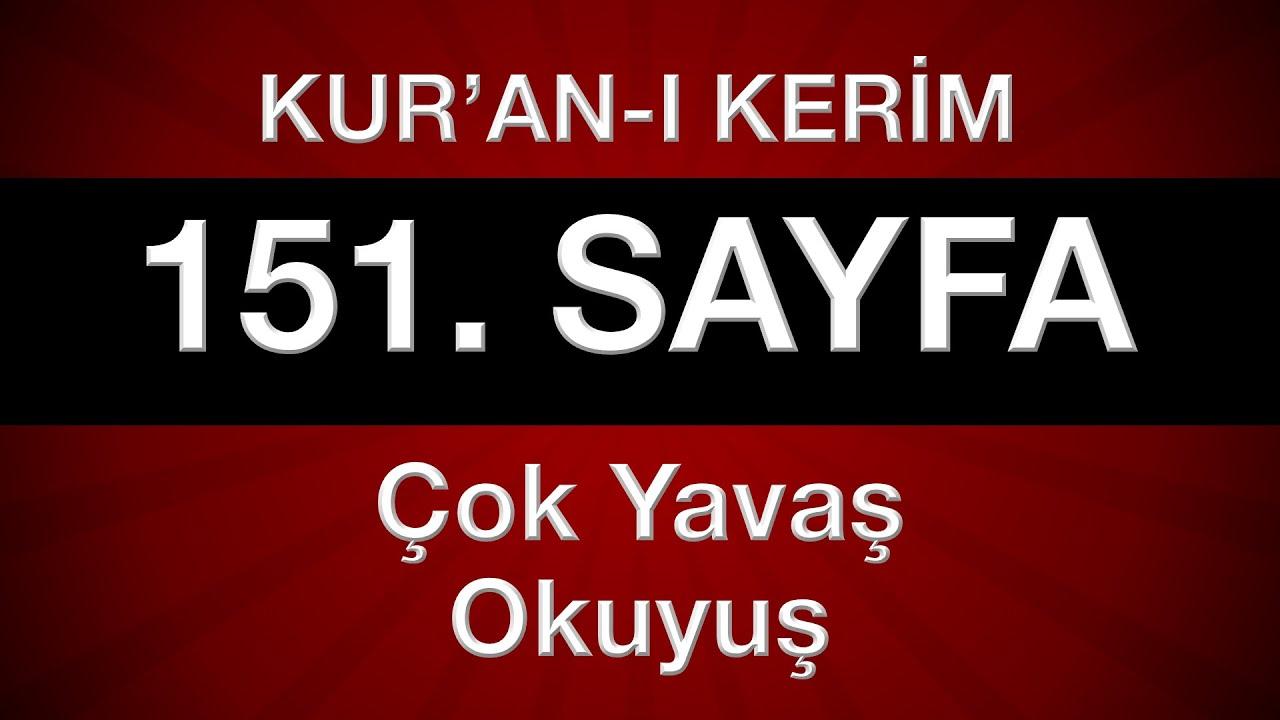 Fatih Çollak - 151.Sayfa - A'râf Suresi (12-22)
