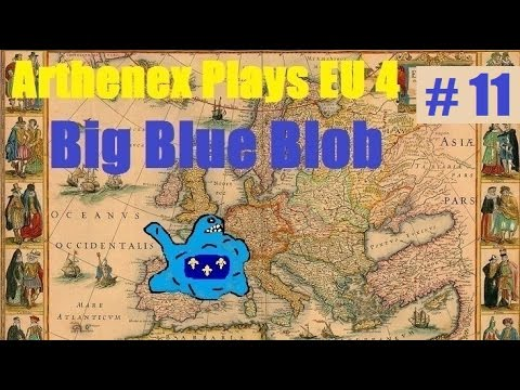 Let's Play EU 4 Big Blue Blob Achievement: Episode 11