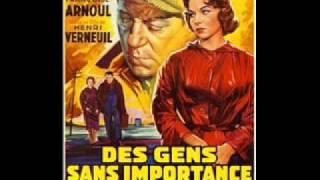 Joseph Kosma/Des Gens Sans Importance ジョセフ・コズマ/ヘッドライト