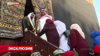 В Мекке открыли Каабу для матери Кадырова.