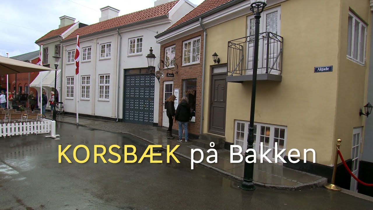 Korsbæk på Bakken - YouTube