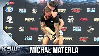 KSW 44: Michał Materla vs. Marcel Materla - media trening
