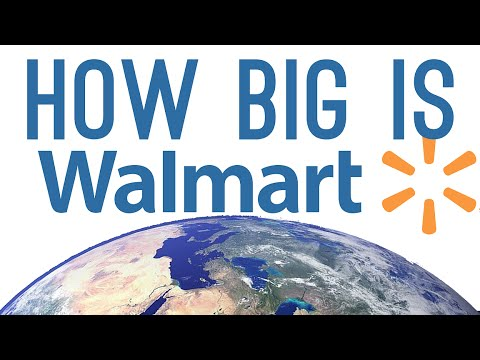 How BIG is Walmart? (2.2 million employees!)