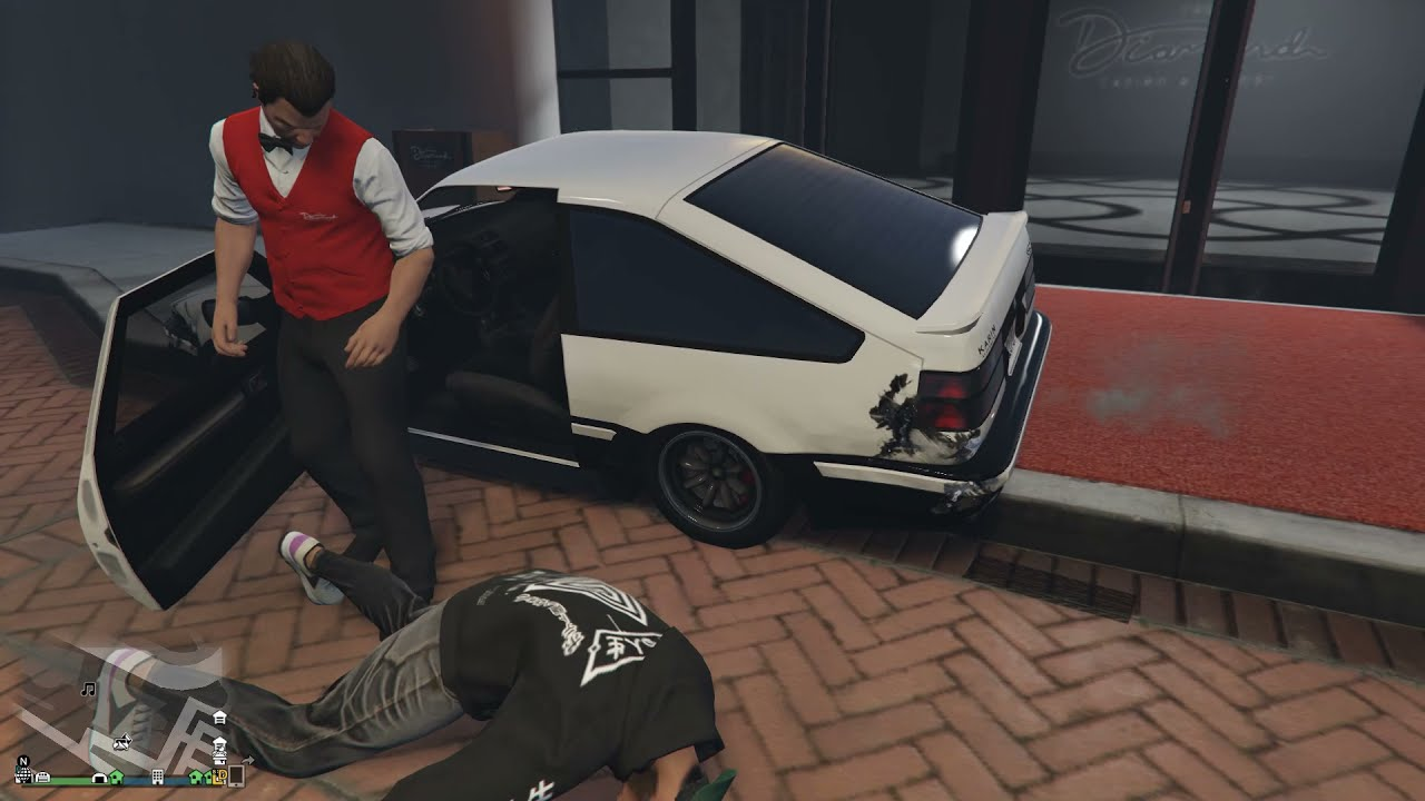 Download When the GTA V  Valet Finally has Enough
