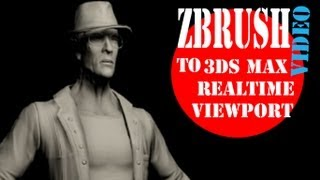 Zbrush to 3DS MAX Realtime Viewport - Tutorial(, 2013-09-26T22:31:24.000Z)