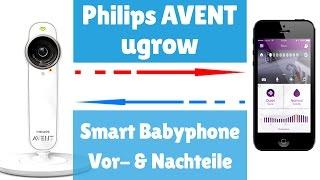 Philips Avent uGrow Smart Babyphone ► Philips Avent SCD870 26 Test