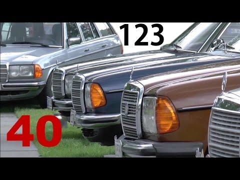 40 Jahre 40 years E-Klasse BR 123-series E-Class Mercedes-Benz W123-Club Jahrestreffen Sindelfingen