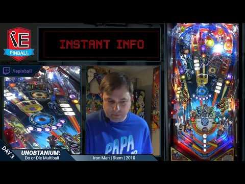 Iron Man Pinball - Do or Die Multiball Achieved!
