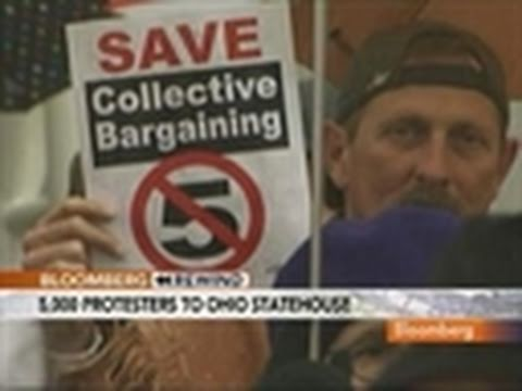 Ohio Labor Unions Fight for Collective Bargaining Rights