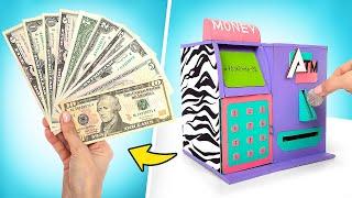 Cómo hacer un cajero automático de cartón simplemente genial