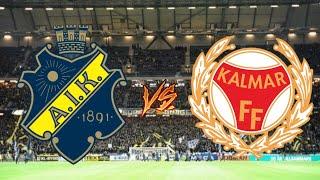 AIK MOT SM-GULD | AIK - KALMAR | VIKITG VINST!