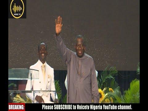 Breaking: Jonathan And Osinbajo Takes Politic To Church