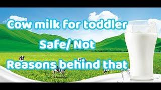 உங்கள் குழந்தைக்கு எப்போது, எப்படி மாட்டு பால் சேர்க்கலாம் மற்றும் பயன்கள்/Cow milk safe or not?
