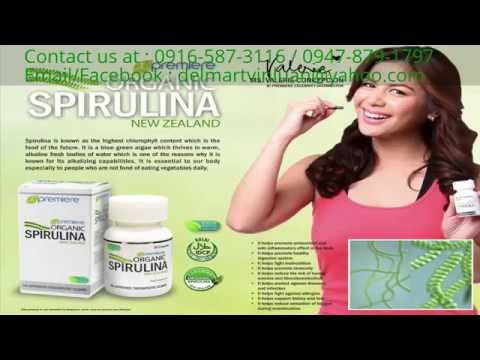JC Premiere Organic Spirulina *Food Supplement