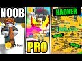 ROBLOX NOOB VS PRO VS MONEY HACKER IN MAGNET SIMULATOR!
