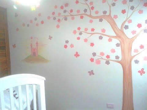 Murales infantiles como pintar una habitacion de ni a for Como decorar el cuarto de mi hija