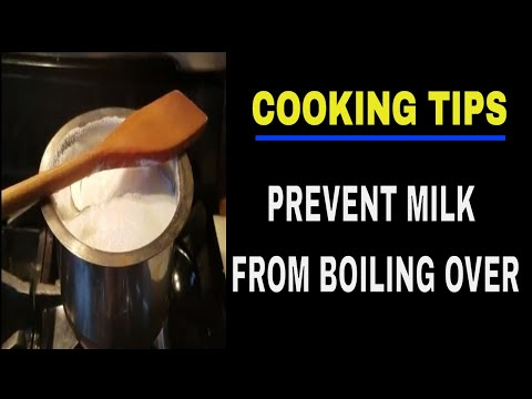 HOW TO AVOID MILK FROM BOILING OVER | BOILING OVER MILK | KITCHEN TIPS AND TRICKS