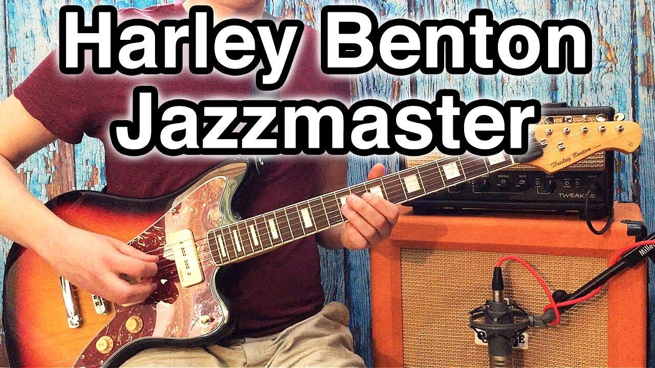 harley benton jazzmaster ja 60sb the 120 jm youtube. Black Bedroom Furniture Sets. Home Design Ideas