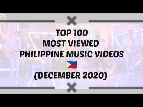 December 2020 Top 100 Most Viewed Philippine Music Videos Youtube