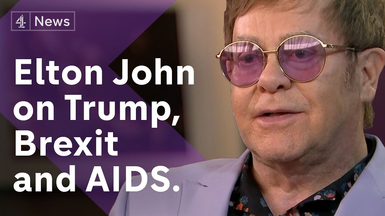 Elton John interview on the fight against Aids - and Brexit