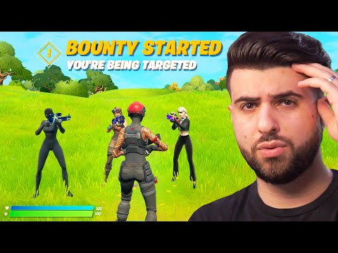 Fortnite, but 3 Pro Players Hunt Me Down...