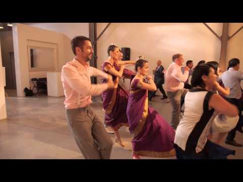 Adrian and Govind's wedding: flash mob and wedding dance