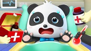 getting a shot |arabic animation|babybus|kiki  miumiu| safe teaching animation |Babybus