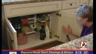 Get Organized: Under the Kitchen Sink.