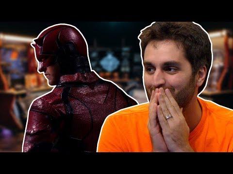 Nightwing vs Daredevil Sneak Peek  DEATH BATTLE Cast