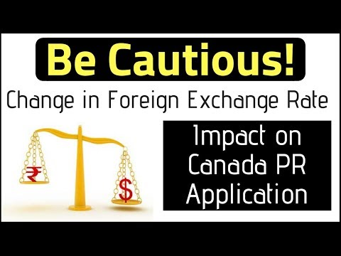 🇨🇦 Rising Foreign Exchange Rate | Impact On Canada PR