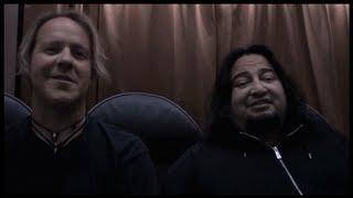 BURTON C BELL & DINO CAZARES TALK