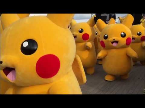 Police Pikachu Song for Children Pokemon Dance and Nursery Rhymes Songs for Babies Non Stop