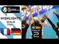 FINAL: Germany Vs. France - Highlights | CEV Men's Tokyo Volleyball Qualification 2020