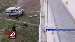 Полицейские расстреляли наркомана. Видео!
