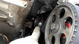 видео Как выставить ГРМ ВАЗ 2109 после обрыва ремня